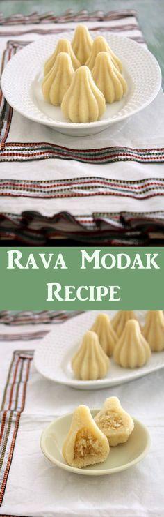 Rava modak recipe for Ganesh Chaturthi   Semolina modak
