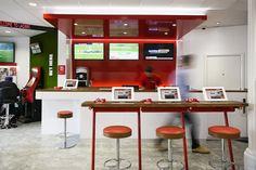 betting shop interior