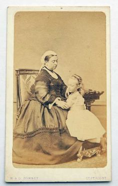 Queen Victoria with Princess Victoria of Hesse