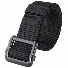 """Moonsix Nylon Belts for Men,Surival Military Style 1.5"""" wide Webbing Duty Tactical Belt with Metal Buckle   http://huntinggearsuperstore.com/product/moonsix-nylon-belts-for-mensurival-military-style-1-5-wide-webbing-duty-tactical-belt-with-metal-buckle/"""