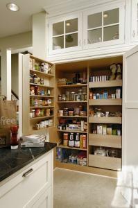 Pantry Closet inside