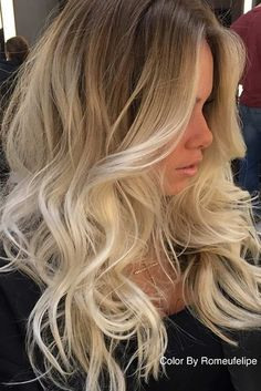 Made of virgin human hair. Hair color: As picture shown. Each hair individually implanted and hand-tied. Hair Density: We will resolve your problems. Brown Blonde Hair, Blonde Ombre, Blonde Balayage, Gray Hair, Frontal Hairstyles, Wig Hairstyles, Trendy Hairstyles, Hair Color And Cut, Hair Colour