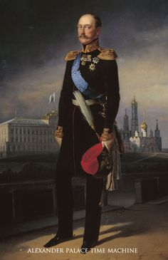 Nicholas I (Nicholas Pavlovich Romanov) (1796-1855) Russia at Tsarskoe Selo. Husband of Princess Charlotte (Alexandra Feodorovna) (1798-1860) Prussia. 9th Child of Paul I (Paul Petrovich Romanov) (1754-1801) Russia & 2nd wife Sophie Dorothea (Maria Feodorovna) (1759-1828) Prussia. He died of pneumonia in 1855 during the Crimean War when he refused medical treatment.