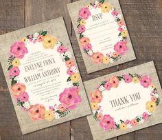 Hey, I found this really awesome Etsy listing at https://www.etsy.com/listing/156223358/printable-wedding-invitation-set-dyi