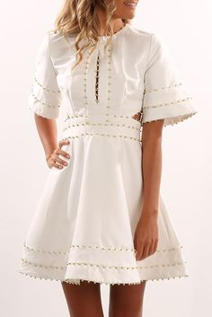 All In Love Mini Dress Ivory
