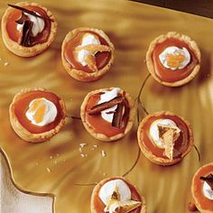 these are amazing.  i modified the recipe to make it a full-sized caramel tart.