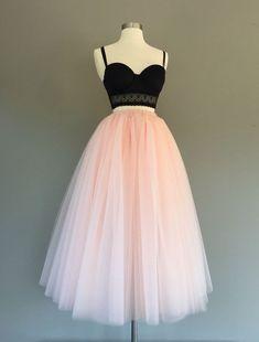 skirt Tulle skirt, floor length tulle skirt, light blush tulle skirt, adult tulle skirt, ANY COLOR Hoco Dresses, Quinceanera Dresses, Homecoming Dresses, Pretty Dresses, Beautiful Dresses, Formal Dresses, Dress Prom, Adult Tulle Skirt, Blush Tulle Skirt