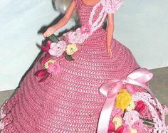 Crochet poupée Barbie Pattern - #673 Couturier ORIGINAL #1
