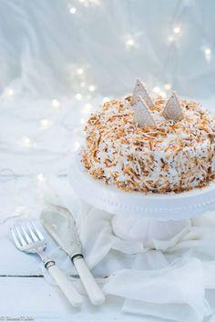 Christmas cake : Le gâteau de Noël à la noix de coco