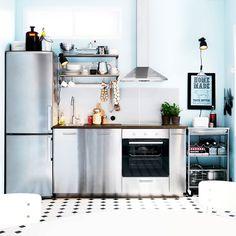 Îlot Central Cuisine IKEA En Idées Différentes Et Originales - Ikea valence drome pour idees de deco de cuisine