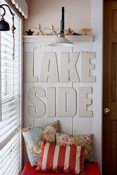 nautical + beachy inspiration. for the :: Lake House Dreamin'