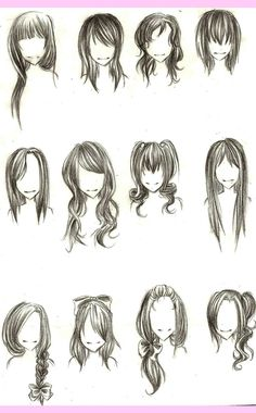 Outstanding Style Drawing Hair And Female Hairstyles On Pinterest Hairstyle Inspiration Daily Dogsangcom