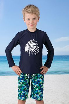 Kasana Sea - Boys Navy Rash Vest - Babes in the Shade, $44.00 (http://www.kasanasea.com.au/boys-navy-rash-vest-babes-in-the-shade/)