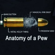 The other day I learned exactly what goes into a bullet and how it works! Have you seen this yet?! . #guns #gunsdaily #ammo #bullets #9mm #bestammo #9mmforlife #guntips #gunknowledge #knowledgeispower #knowyourfacts #facts #factsdontcareaboutyourfeelings #45caliber #magicbullet #pewpewlife #pewpewpew #pew