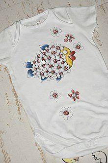 Detské oblečenie - Rybiška florowa - 6305532_