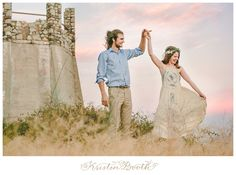 Bohemian Fairytale Engagement Photos in the Mountains {Emily and Michael}