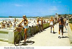Pacific Beach Boardwalk. San Diego. 1970's <3