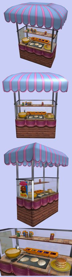 Food Cart: Pancakes