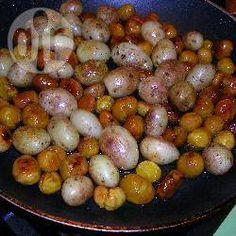 Geröstete Maronen und Kartoffeln @ de.allrecipes.com