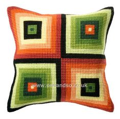 Squares Cushion Front