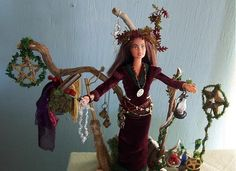 wicca barbie...have to start working on one!