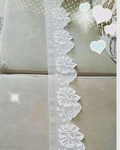 Diy Crafts - Women Vest Cone Pattern New Knitting Design Free Crochet Blanket Border, Crochet Edging Patterns, Crochet Lace Edging, Crochet Leaves, Crochet Borders, Crochet Trim, Crochet Doilies, Easy Crochet, Filet Crochet