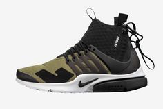 Here's Your Best Look Yet at ACRONYM's NikeLab Air Presto Mids
