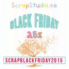 BLACK FRIDAY 2014. ¡QUE LO DISFRUTÉIS! http://scrapstudio.es/black-friday-2014/
