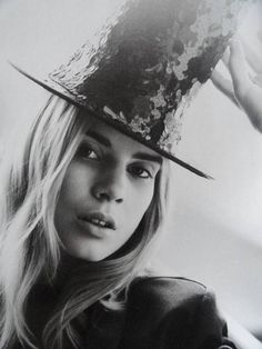 a paillette hat