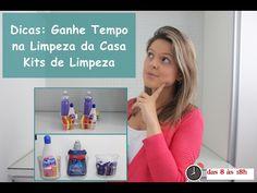 Dicas para Agilizar a Limpeza da Casa - Kits de Limpeza -Das 8 às 18h - YouTube