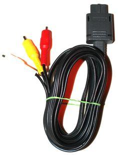 Original AV Cinch Kabel für Super Nintendo-SNES