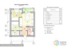 Проект квартиры для клиентов из vdolevke