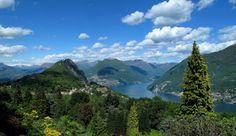 Taken from San Grato Botanical Park, Carona, Lugano, Switzerland ✯ ωнιмѕу ѕαη∂у