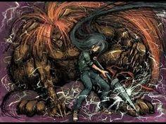 Ushio to Tora - The demon and the warrior .That's a f****** good team 😁😉😆 Ushio To Tora, Hiromu Arakawa, Animated Cartoons, Anime Characters, Manga Anime, Lion Sculpture, Animation, Japanese, Statue