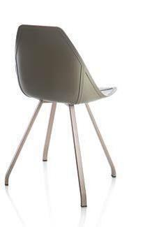 N°04 Sedia X SPIDER con 4 gambe - ALMA DESIGN - arredogiardini.it Stool, Furniture, Design, Home Decor, Home, Decoration Home, Room Decor, Home Furnishings