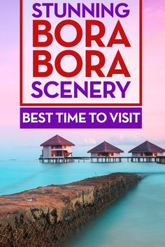 Best time to visit Bora Bora? All year round! :) Hahaha. So stunning!! Bora Bora is my favourite island. I went there in 2012 and can't wait to get back. Enjoy the photos!! And repin pls :)
