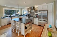 You have a lot of options when it comes to selecting the right flooring product for your kitchen remodel.