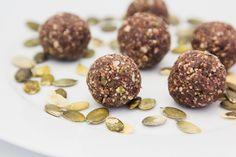 Hovkonditorn: Pumpkin Seed Coconut Bliss Balls