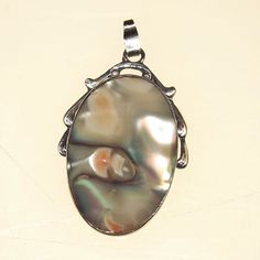 Vintage Sterling Pendant Blister Pearl 1930s Art by 4dollsintime, $65.00