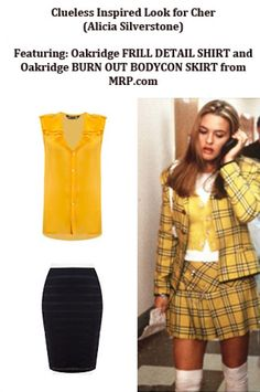 Get the Clueless Inspired Look for Cher for less than $20 from mrp.com