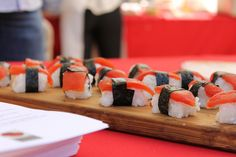 Tomato sushi? Now that's genius. One of the great dishes from our Tomato Fest.