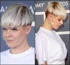 modern bowl cut women - Google Search