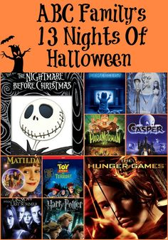 13 nights of halloween 11 abc family 13 nights of halloween pinterest