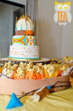 My indian theme baby shower