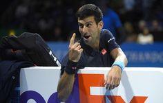 Djokovic passa por Goffin e avança em primeiro às semifinais do ATP Finals