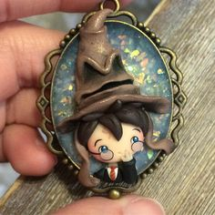 Harry potter world, gift for potterhead, gift for geeks, fantastic beast, t Harry Potter Ornaments, Harry Potter Charms, Harry Potter Decor, Harry Potter Christmas, Harry Potter Books, Polymer Clay Figures, Polymer Clay Dolls, Polymer Clay Miniatures, Polymer Clay Charms