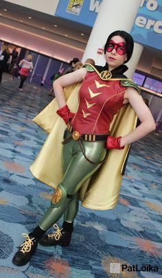 Earth 2 Robin,Helena Wayne, by PatLoika