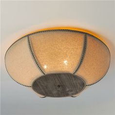 Barn Cloth Ceiling Light