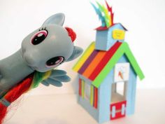 How to make a Rainbow Dash Stable Tutorial/ My Little Pony