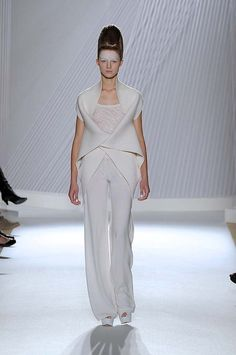 Liu Fang Paris Fashion Week Spring/Summer 2013